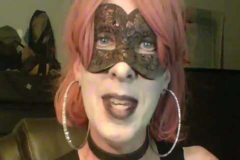 nasty Dancing Goth Cd cam Show Part 2 Of 2