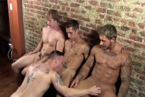 stripped PARTY II-CAMERON-CARMINE-DAMIAN & KYLE