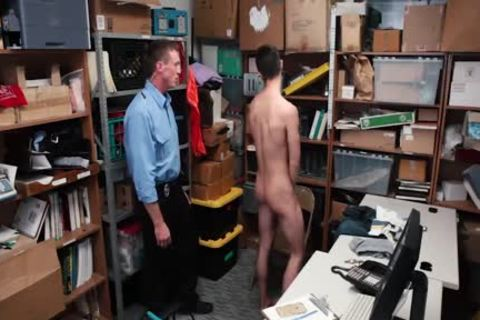 Tall dude Took It Up The butthole For Stealing