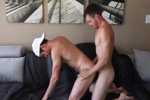 Husbands bunch-sex It Out On The couch