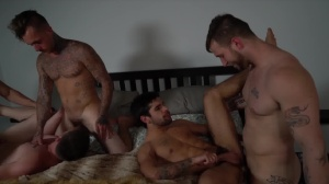 Pass The Bottom - Brian Michaels with Axel Kane butthole Hook up