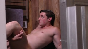 Sorry dad - Damien Stone with Clark Campbell large jock Nail