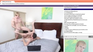 The Chat Room - Cameron Foster with Brandon Moore ass pound