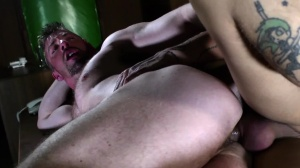 The Law Of men - Mickey Taylor, Scott Hunter butthole nail