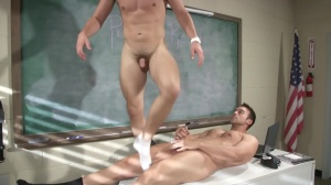 Hazing Bust - Rocco Reed and Joey Cooper ass-copulation