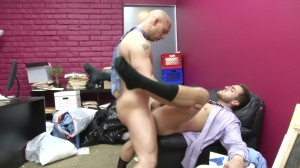 Law And Hoarder - John Magnum and Bryce Star butthole Nail