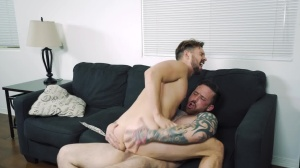 Space Invaders - Jordan Levine with Casey Jacks ass-copulation