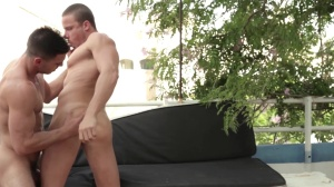 men In Ibiza - Paddy O'Brian and Tony Gys butthole Hook up
