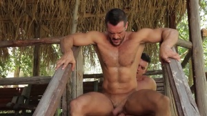males In Ibiza - Paddy O'Brian & Denis Vega pooper job