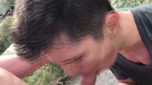 males In Public three – Hike - pooper Licking First Time