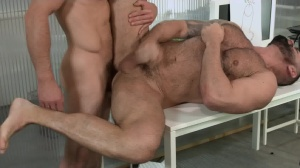 Defiance - Paddy O'Brian and Victor D'Angelo butthole Love