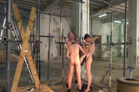 Sub twinks Interviewed before bondage And coarse unprotected