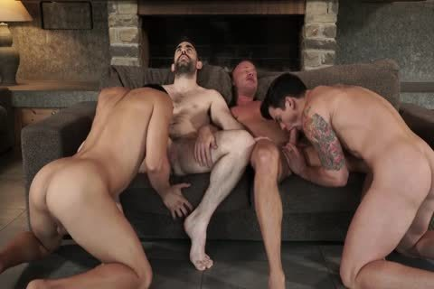 Two Daddies slam Younger couple bare