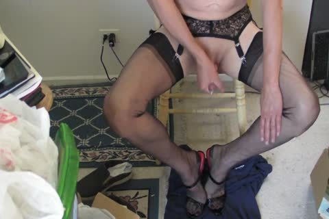 darksome RHT nylons, Heels And sperm