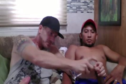Straight Latino Construction Worker receives First cook jerking From A guy (Martin 2)