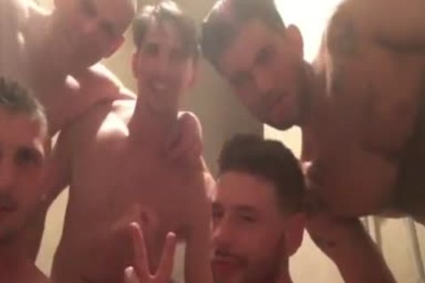 group-sex And Shower