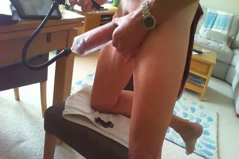 Edging With dick Pump