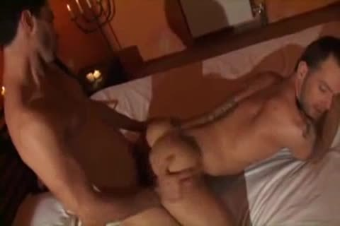 painfully unprotected pounding With Two pumped up Youngsters