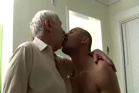 pleasant older man & Younger Having Sex