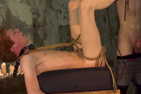 corporalist twink Barebacks His Sub After Restraining Him