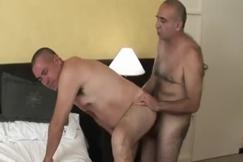 ravishing Latin old Daddy Sucks & receives pounded By shaggy old chap