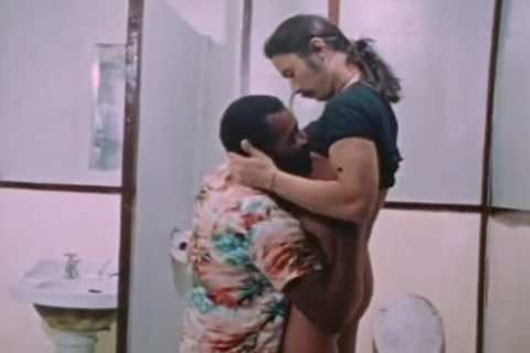 Interracial collision In Restroom (from 'Diary Of An M')