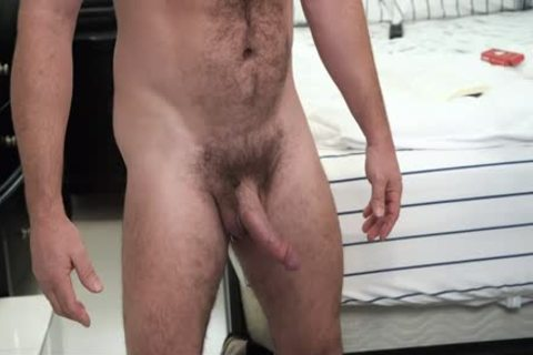hairy Stepdad gets His 10-Pounder Sucked By Son