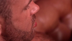 GodsOfMen.com: Brown hair Logan Moore & Tyler Berg licking ass