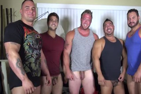 In Nature's Garb Party @ LATINO Muscle Bear house - amateur enjoyment W/ Aaron Bruiser