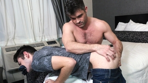 Family Dick - Lance Hart among Brayden Wolf pounding in motel
