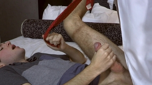 FamilyDick: Brayden Wolf with Lance Hart roleplay in hotel
