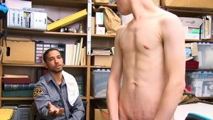 YoungPerps: Officer Zach Brenton loves fucked by Mike Maverick