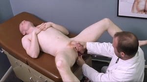 MissionaryBoys.com - Nurse Elder Larsen teasing in office