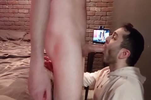 Skull pounding A chap And sucking A Load Right Into His throat