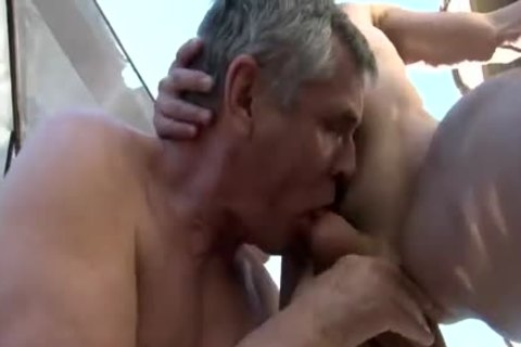 threesome With Two older studs Daddy 1