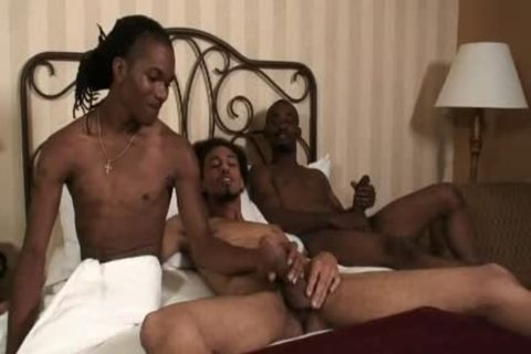 black twink TURNED homo BY TWO black friends