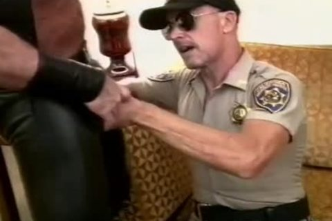 nice-looking Cop Unfathomable-throats A rock hard ramrod And Makes It sperm