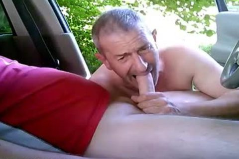 excited homo boys On Car Have Some Public And Outdoor Sex