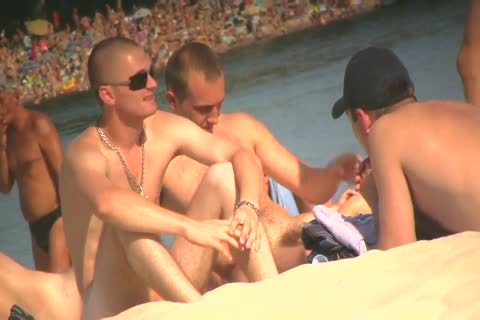 SPYING ON naked studs AT THE NUDIST BEACH - VOL 1