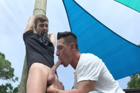 Nephew receives tied Up And banged By Step-Uncle