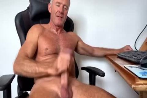 Dream Dilf Play With His large Uncut German rod (no cum)