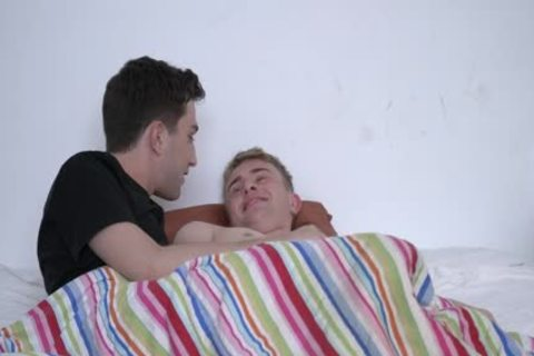 Cuddling And fucking stunning Stepbro