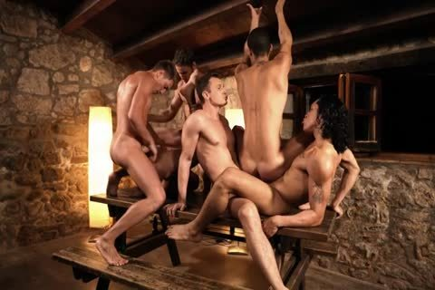 Six studs Sex On The Table