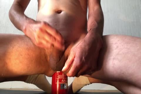 bewitching Insertion extraordinary Bottle pooper With ejaculation