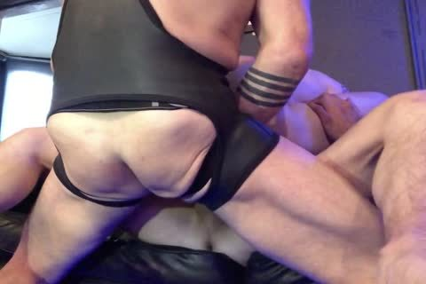 smutty bareback 3way With Double ass Part 2