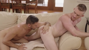IconMale.com: Muscle Shane Jackson licking ass