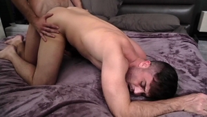 Icon Male - Mason Lear together with Lance Hart blowjob cum