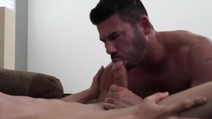 IconMale - Mature Billy Santoro pounded by big cock Jacob Stax