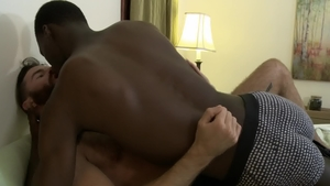 IconMale.com - Ebony Brendan Patrick is a hairy gay