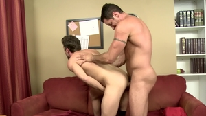 IconMale.com - Jock Lance Hart being pounded by Nick Capra